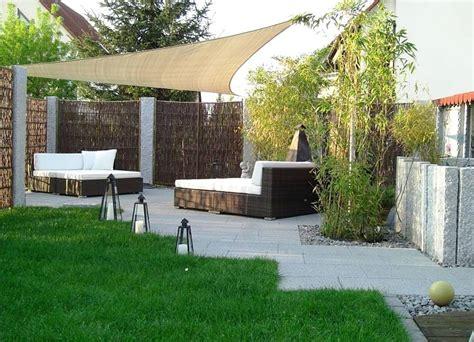 Gartengestaltung Kleine Gärten Modern by Mit Weidenflechtwerk Und Polyrattan Modern Gestalten