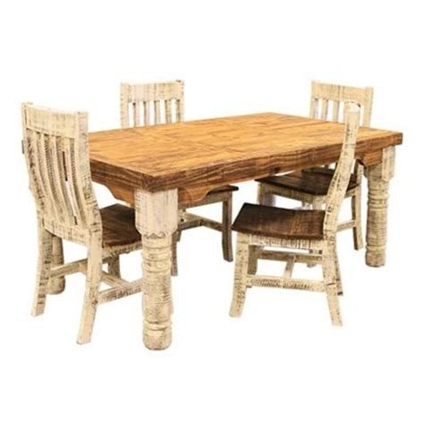 lmt white washed rustic dining room set dallas