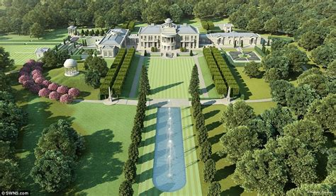 mansion designs plans unveiled for 60m windlesham house in surrey countryside daily mail