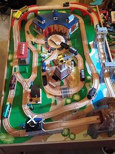 14 Best Thomas Wooden Track Layouts Images On Pinterest