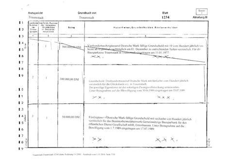 grundschuld abteilung 3 das grundbuch ein gesamt 252 berblick die immobilienfluesterin