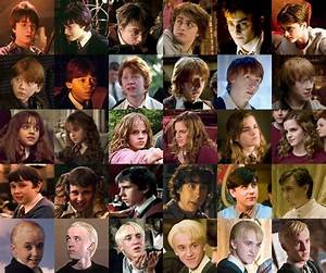 Evolution of the Harry Potter characters