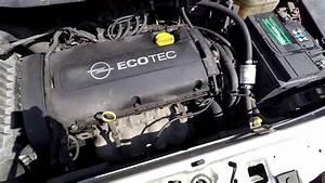 Opel Zafira 1 8 2006 Engine Cold Start And Sound 103kw