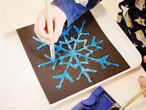 Mit Wasserfarbe Malen : salzmalerei bunte eiskristalle aus salz montessori ~ Watch28wear.com Haus und Dekorationen