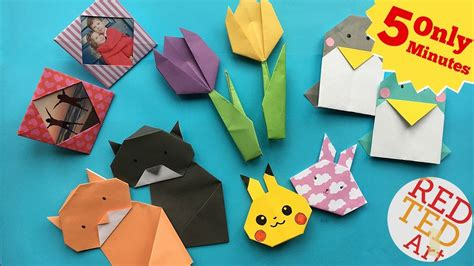 minute crafts  quick easy origami projects
