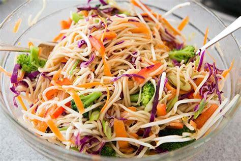 noodle salad recipes cold image gallery noodle salad