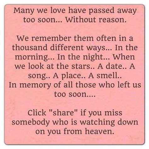 quotes missing mother passed away