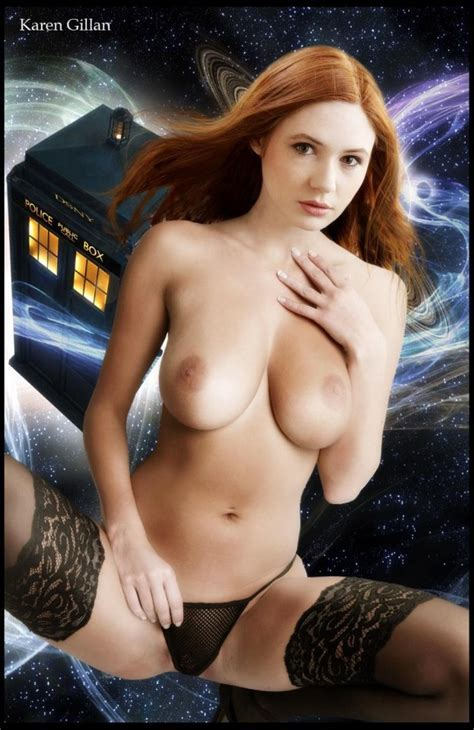 Karen Gillan Nude Celeb Topless Karen