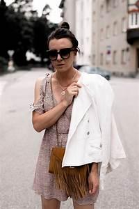 Kleid Mit Jeansjacke : mein outfit mit sommerkleid jeansjacke und slingpumps ~ Frokenaadalensverden.com Haus und Dekorationen