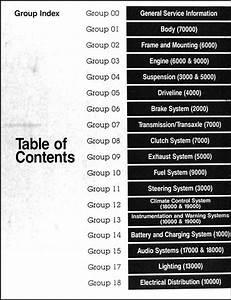 1992 Ford Taurus  U0026 Mercury Sable Repair Shop Manual Original