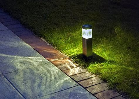 Solar Lights Outdoor,super Bright Lumen Satinless Steel