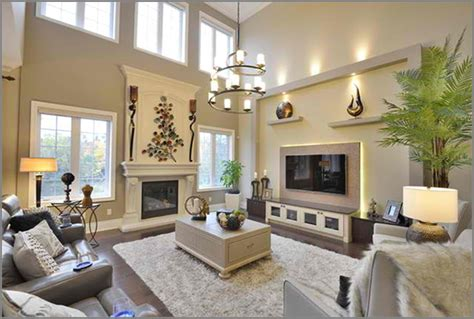 paint colors for high ceiling living room house