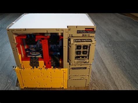lego technic vending machine  thermal printer youtube