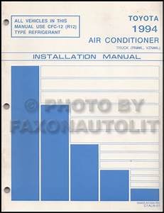 1994 Toyota Pickup Truck Wiring Diagram Manual Original