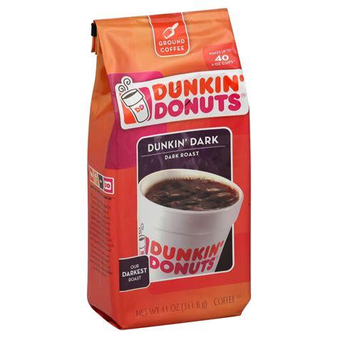 Click through to see some of the most fun ones. Dunkin' Donuts Coffee, Ground, Dunkin' Dark, Dark Roast, 11 oz (311.8 g)