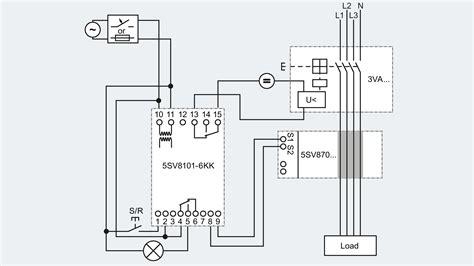 siemens shunt trip breaker wiring diagram  wiring