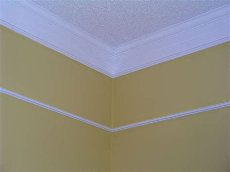 simple addition  crown molding   walls meet