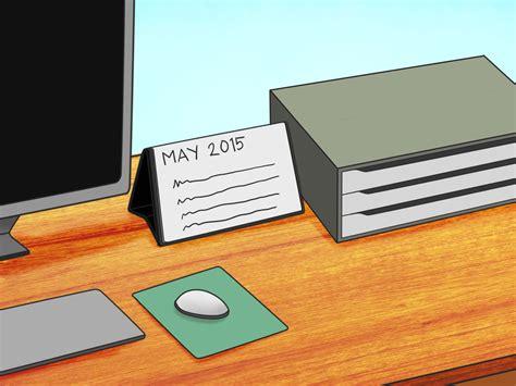 comment organiser bureau comment organiser votre bureau 6 é wikihow