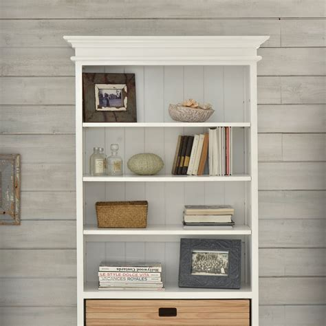 26 Creative White Wood Bookcases Yvotubecom