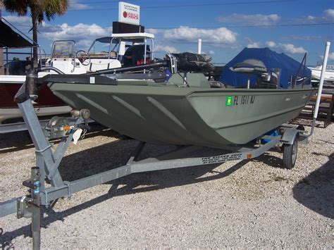 Aluminum Boats Used Pictures