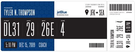 redesigning  boarding pass journal boarding pass fail