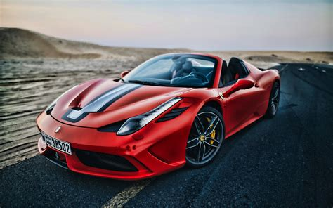 wallpapers  ferrari  italia hdr road