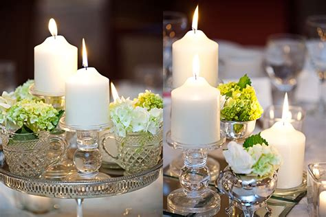 kadee s alot of the wedding reception table decorations are diy and vintage theme