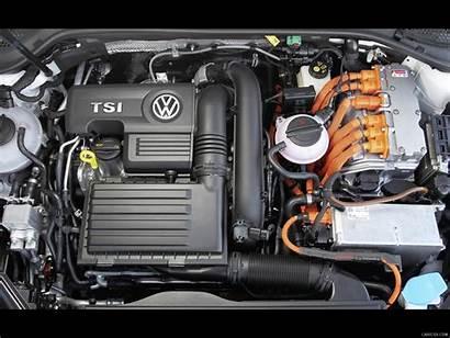 Golf Gte Vw Volkswagen Engine Motorhaube Motor