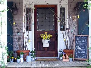 Spring Front Porch - Cottage in the Oaks