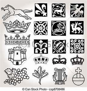 Heraldry Symbols Clipart
