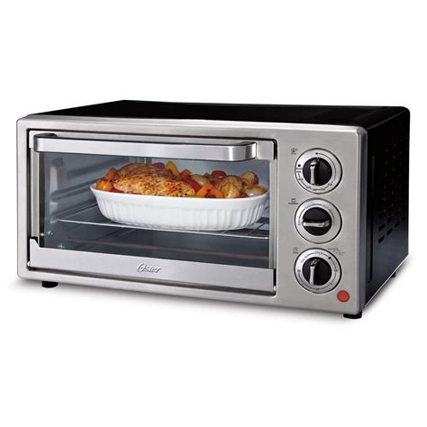 countertop convection ovens oster 174 6 slice convection countertop oven at oster