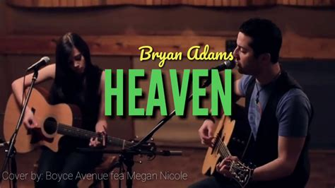 boyce avenue ft megan nicole cover bryan adams
