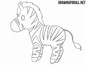 How To Draw A Chibi Zebra
