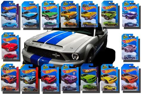 mustang hot wheels coleccion mustang    hot