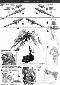 Rg Wing Gundam Zero Ew English Manual  U0026 Color Guide