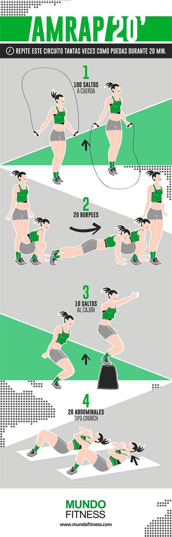 Crossfit In Casa by Entrenamiento Crossfit En Casa De 20 Minutos Mundo Fitness