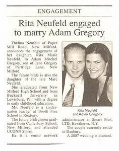7 best images of post wedding announcement wording With wedding announcement ideas for newspaper