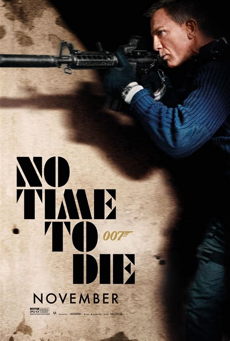 'No Time To Die' gets a new poster: See every poster for ...
