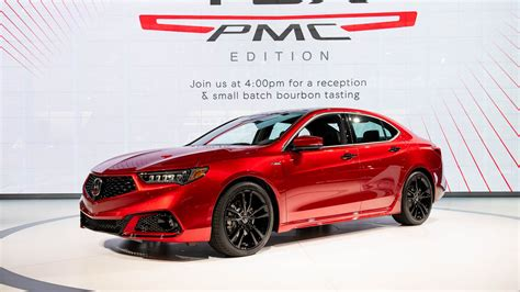 hand built  acura tlx pmc edition shines  nsx paint