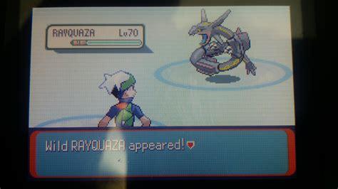 Pokemon Emerald Rayquaza Shiny Wwwpixsharkcom Images