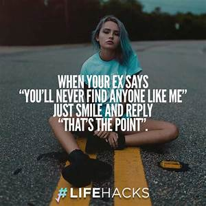 30 Funny & Insulting Ex Boyfriend Quotes (with Pictures)
