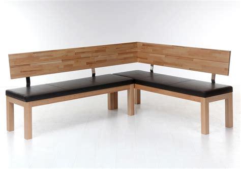 holzbank esszimmer eckbank luca small 190x150cm holzbank varianten massivholz sitzecke wohnbereiche esszimmer