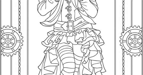 adult coloring pages quot creative haven steunk fashions