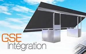 Kit Panneau Solaire Autoconsommation : fixation au sol du kit solaire 4 panneaux gse groundsystem ~ Premium-room.com Idées de Décoration