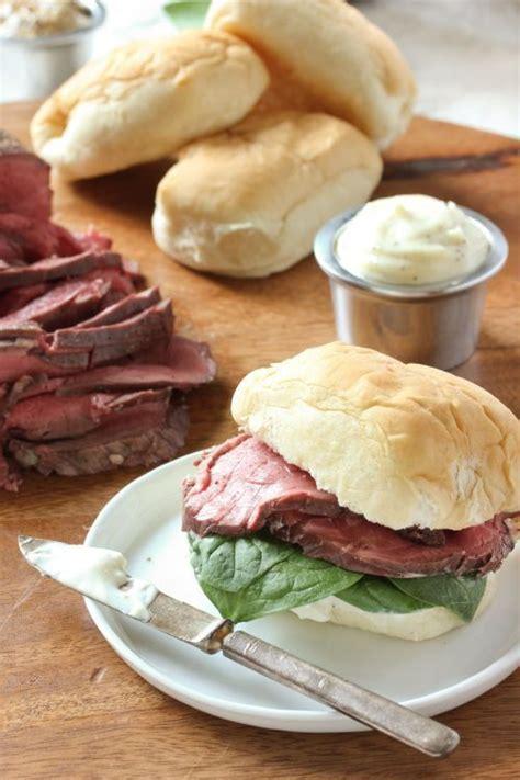 A stuffed beef tenderloin comes together quite easily. Beef Tenderloin Sliders with Horseradish Sauce   Recipe ...