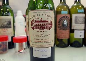 counterfeit vintage bordeaux wine the fake bottles that With fake wine bottle labels
