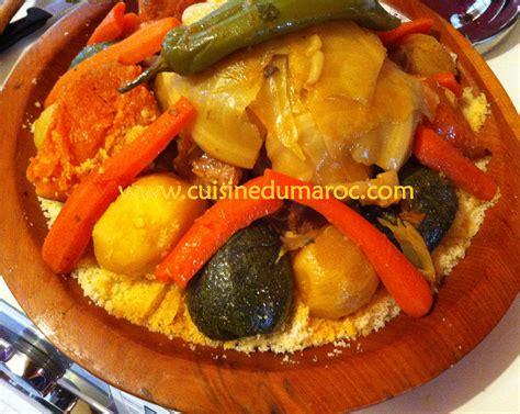 cuisine marocaine couscous couscous recette