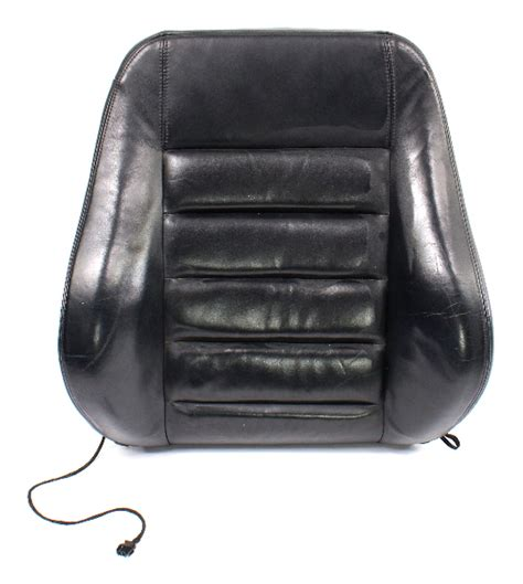 rh front black leather seat  rest   audi   sport seat genuine