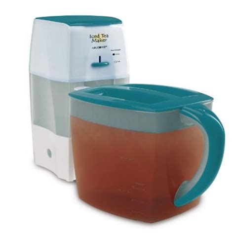 So you shouldn't have to worry about your machine randomly dying. Mr. Coffee TM75TS Fresh Tea Iced Tea Maker, Teal - Walmart.com - Walmart.com