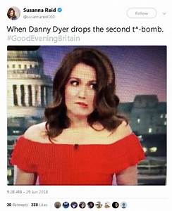 Danny Dyer dropping his second t**t bomb on Good Evening ...